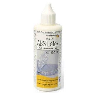 Regia ABS Latex antislip flesje wit