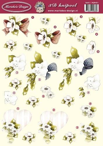 Precious Marieke knipvel bloemen HJ8401