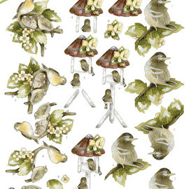 3D Knipvel - Precious Marieke - Springtime - Young Birds