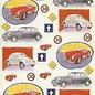 Knipvel (geen 3D) Merel Design Nostalgische Auto