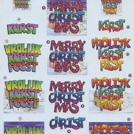 3d knipvel VBK kerst merry christmas