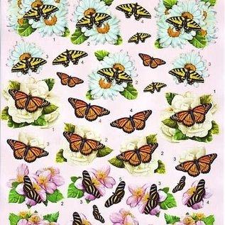 3d knipvel VBK vlinders