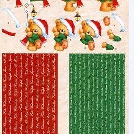 3d knipvel nellie snellen FM001 kerst