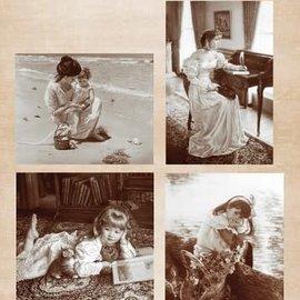 A4 sheet vintage breeze