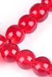Glaskralen rood rond ± 8mm (gat ± 1mm) (± 210 st.)...