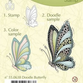 Leane creatief Doodle clear stempel