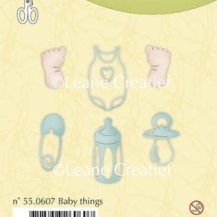 Leane creatief Clear stamp Baby things