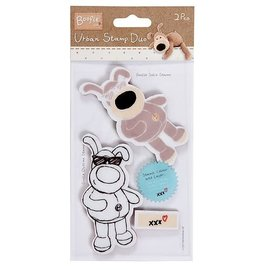 Docraft Tall Urban Stamp Duo - Boofle (Mr Cool)
