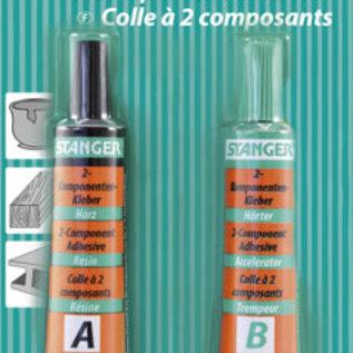 2- Componenten lijm Epoxy Glue / 2-K Epoxy Kleber, 2 x 13 g, blister