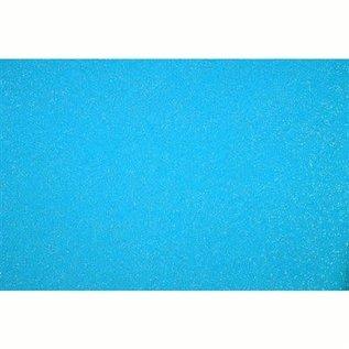 Glitter vilt A4 blauw
