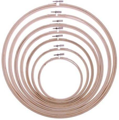 Borduur ringen hout