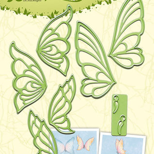 Lea bilitie® Butterflies snij en embossing mal