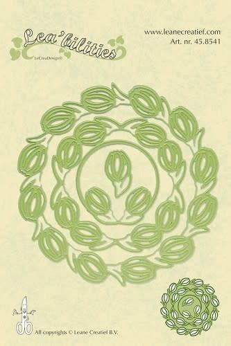 Lea bilitie® Frame flowers snij en embossing mal