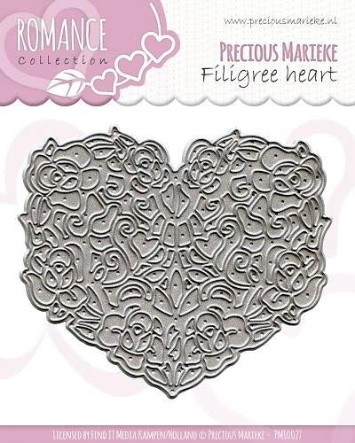 Die - Precious Marieke - Romance - Filigree heart
