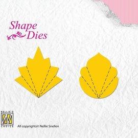 Shape Dies Flower Fan C+D