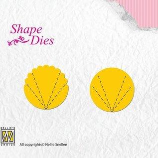 Shape Dies Flower Fan A+B