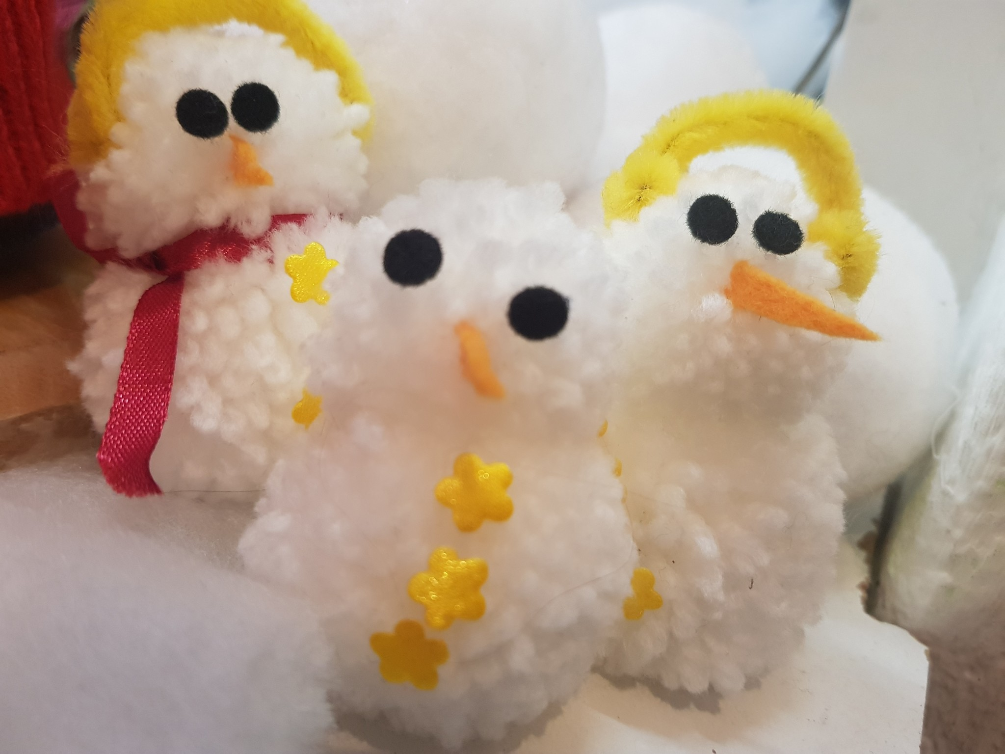 Sneeuwmannetjes maken