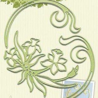 leabilities daffodil & swirls snijmal