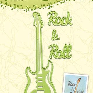 Lea bilitie® Guitar snij en embossing mal