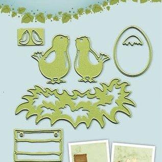 Lea bilitie® Young birds snij en embossing mal