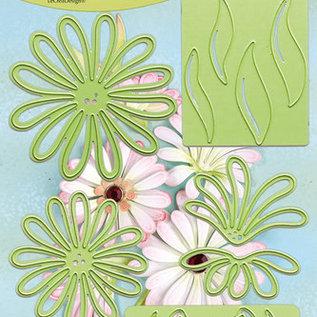 Lea bilitie® Multi die flower 9 Chrysant snij en embossing mal