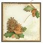 Lea bilitie® pine cones 3D snij en embossing mal