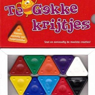 Te gekke krijtjes basis kleuren TGK 001
