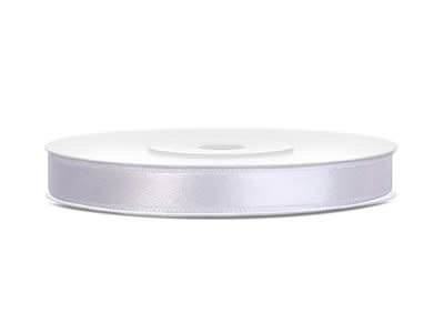 Satijn lint 14mm wit (per meter)