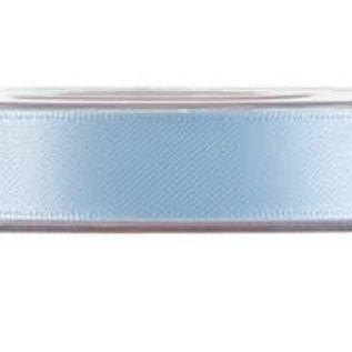 Satijnlint blauw 15mm (per meter)