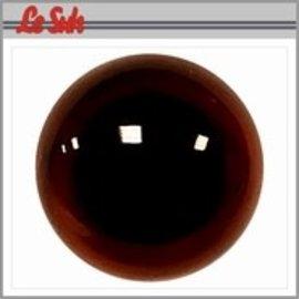 Veiligheid ogen donkerbruin (Transparant)