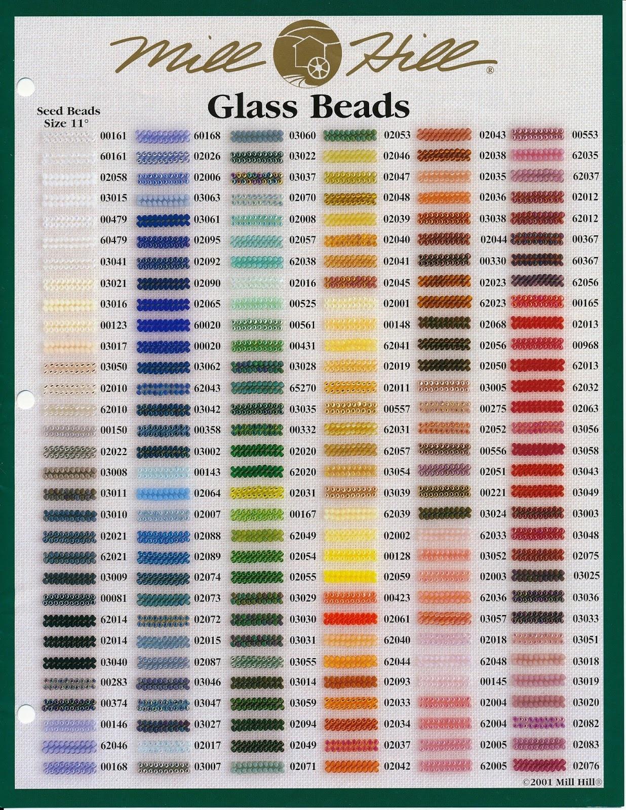 Mill Hill PETITE GLASS BEADS - MILL HILL