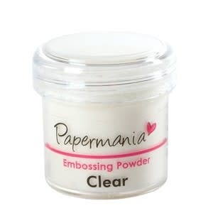 Papermania embossing powder 1oz clear