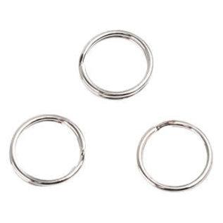 Metalen sleutelhanger ringen 15mm