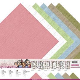 Linnenkarton pakket - 30,5x30,5 Scrap - Yvonne Creations - Celebrations