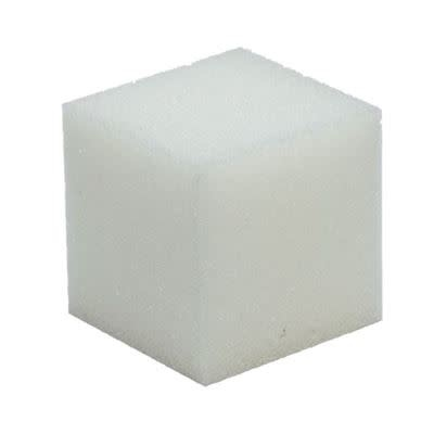 Schuimrubber kubus 10x10 cm