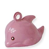 2x roze dolfijn belletjes