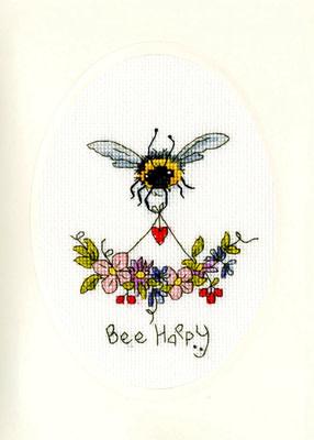 Borduurpakket Bothy Threads Bee Happy