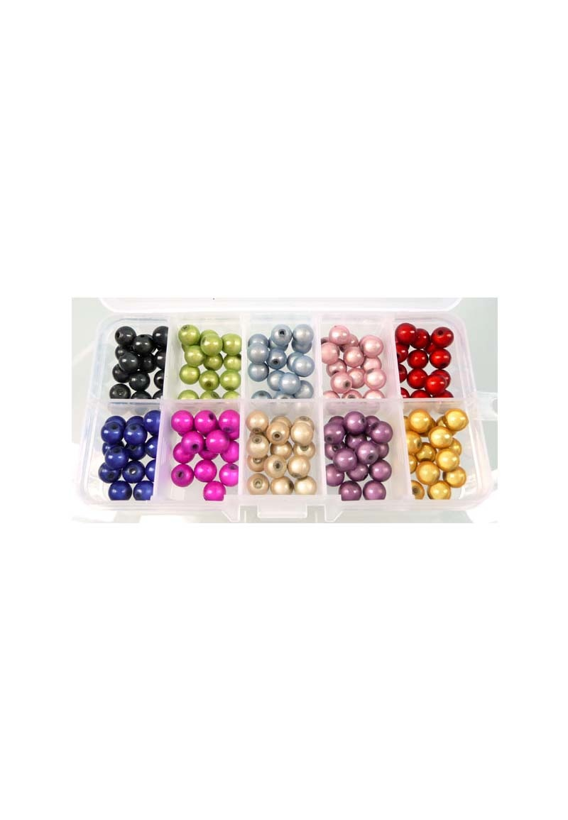 Basis pakket miracle beads rond +/- 8mm