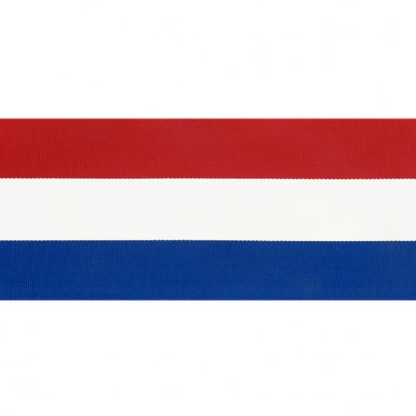 Nederlands Vlaggenband 70mm (per meter)