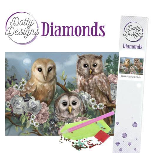 Dotty Designs Diamonds - Romantic Owls
