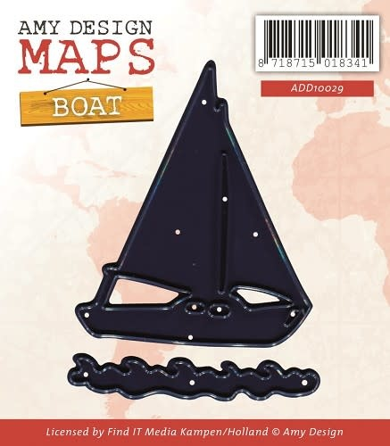 Die - Amy Design - Maps - Boat