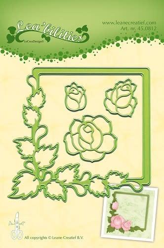 Lea bilitie® Roses snij en embossing mal
