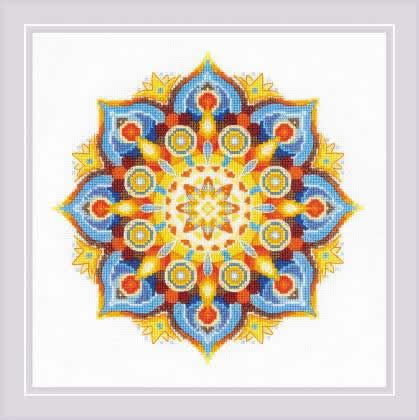 Borduurpakket Energy Mandala - RIOLIS