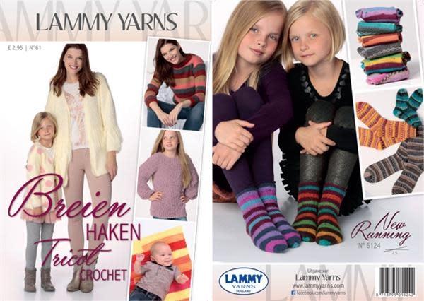 Lammy yarns boekje nr 61