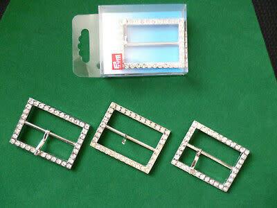 Prym Gesp 50mm Zilver Strass