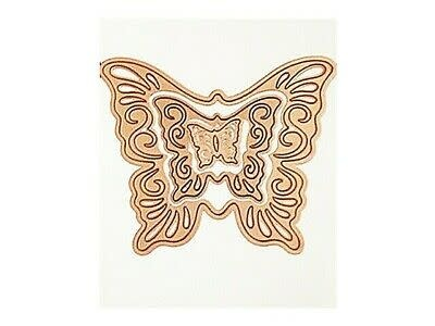 spellbinders nested butterflies 2