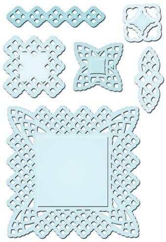 spellbinders lace doily motifs