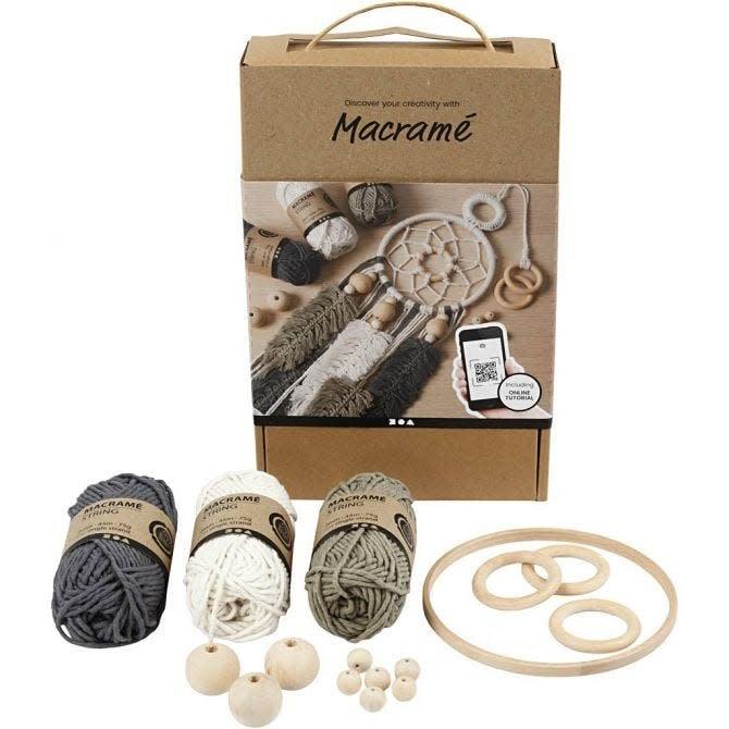 Macramé ontdekken Kit