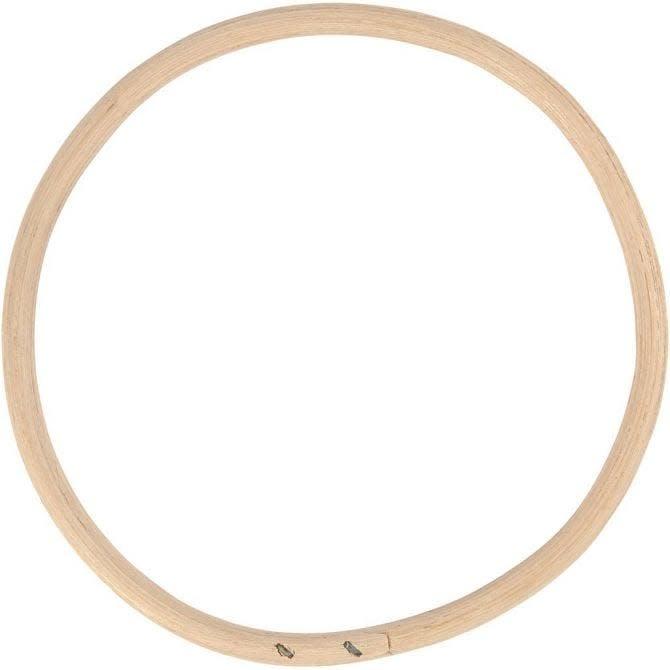 Bamboe ring, d: 15,3 cm