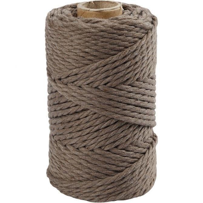 Macramé touw 4mm